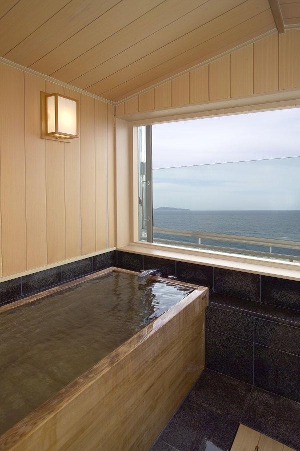 特別室半露天風呂