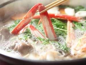 ◆冬P◆茹で蟹1枚◆お腹一杯蟹を食べたい方へ◆焼き蟹&鳥取和牛ミニステーキをプラス『かに御膳グレードアップ』