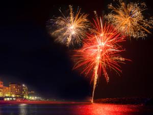 ◆夏休み☆家族旅行◆お子様歓迎花火付~海水浴場へ徒歩40歩♪グルメなお客様に『活鮑の踊り焼き会席』