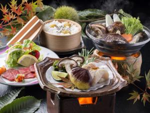 ◆食欲の秋◆≪旬の食材♪季節を味わう≫栗と松茸で贅沢な秋を楽しむ期間限定プラン