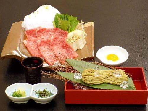 ◆大山開山1300年記念料理プラン◆鳥取和牛を「焼きしゃぶしゃぶ仕立て」で