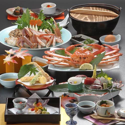 ◆冬P◆茹で蟹一枚◆お手頃価格で楽しむ『かに御膳スタンダード』